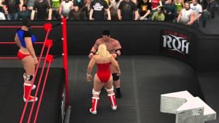 WIWA Wrestling Match #110: Princess Viola vs Roderick Strong WIWA World TV Title Match