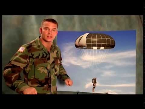 SF-10A and MC 6 parachute training video