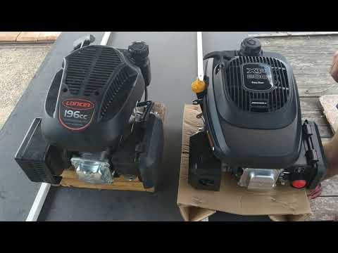 Двигатели с вертикальным валом. Обзор. Лончин LC1P70FA и Зонгшен XP200A