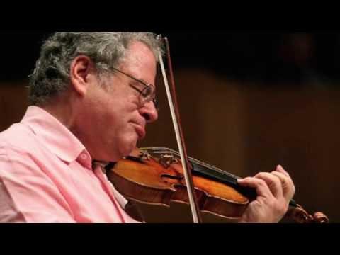 Itzhak Perlman plays Mendelssohn