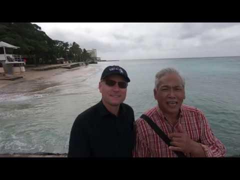 Episode 20. Shore Fishing At Waikiki Beach, Honolulu, Hawaii.  Many More First-to-catch Fish!