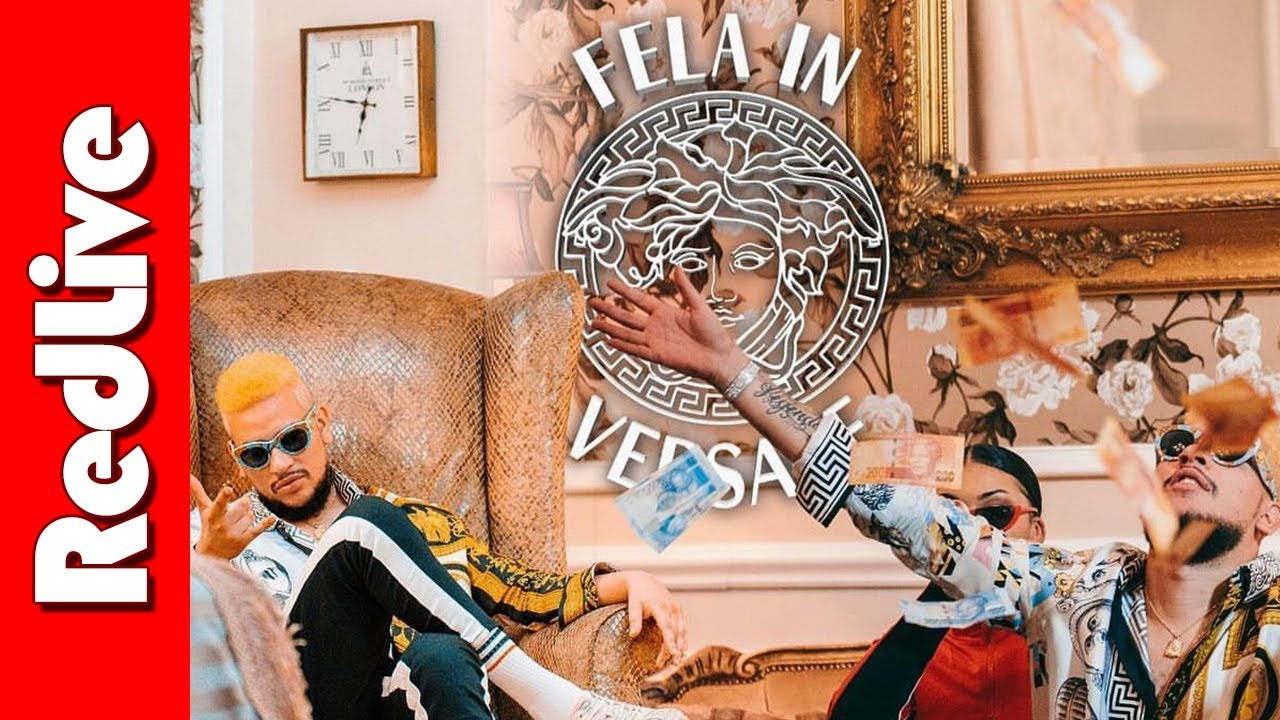 AKA Payola for Fela in Versace - AKAPaidMe