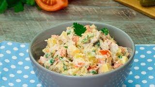 Salată cu aromă orientală – va fi pe placul tuturor, fără excepții! | SavurosTV