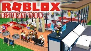 DRIVE THRU OG UDENDØRS OMRÅDE! - Roblox Restaurant Tycoon Dansk Ep 7