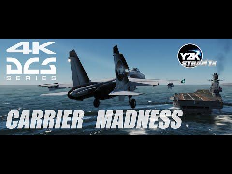 Su-27 Carrier Madness | Кузнецов. Афганский заход | DCS World 4K