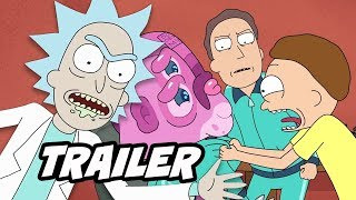 Rick and Morty Season 4 Trailer - Episodes and Comic Con Panel Easter Eggs Breakdown
