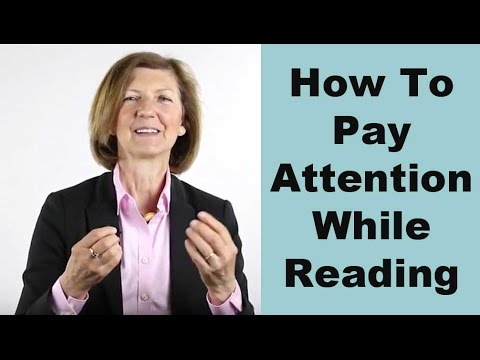 How to pay attention while reading?