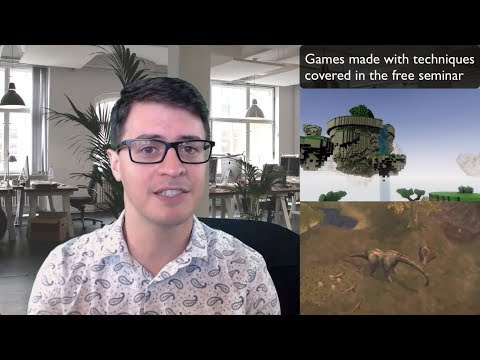 Free Online Seminar: Game Development For Busy People