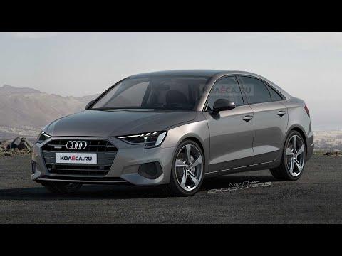 2020 Audi A3 Limousine Rendering
