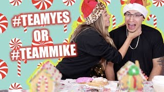 Couples Gingerbread House Challenge | YesHipolito