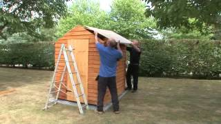 How to build a shed | Forest Garden & Howarth Timber