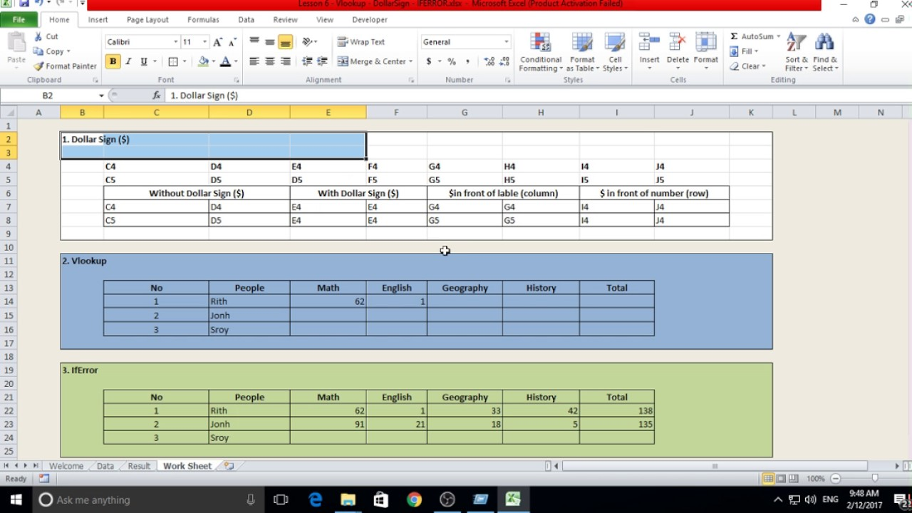 Learning Excel In Cambodia