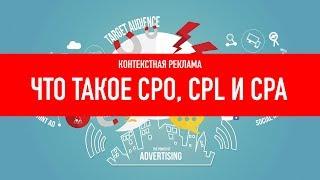 видео Интернет-реклама и показатели её эффекивности: ROI, CPV, CPC, CPA, CTR