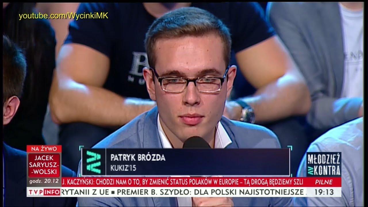 Młodzież kontra 614: Patryk Brózda (Kukiz'15) vs Marek Sawicki (PSL) 21.10.2017