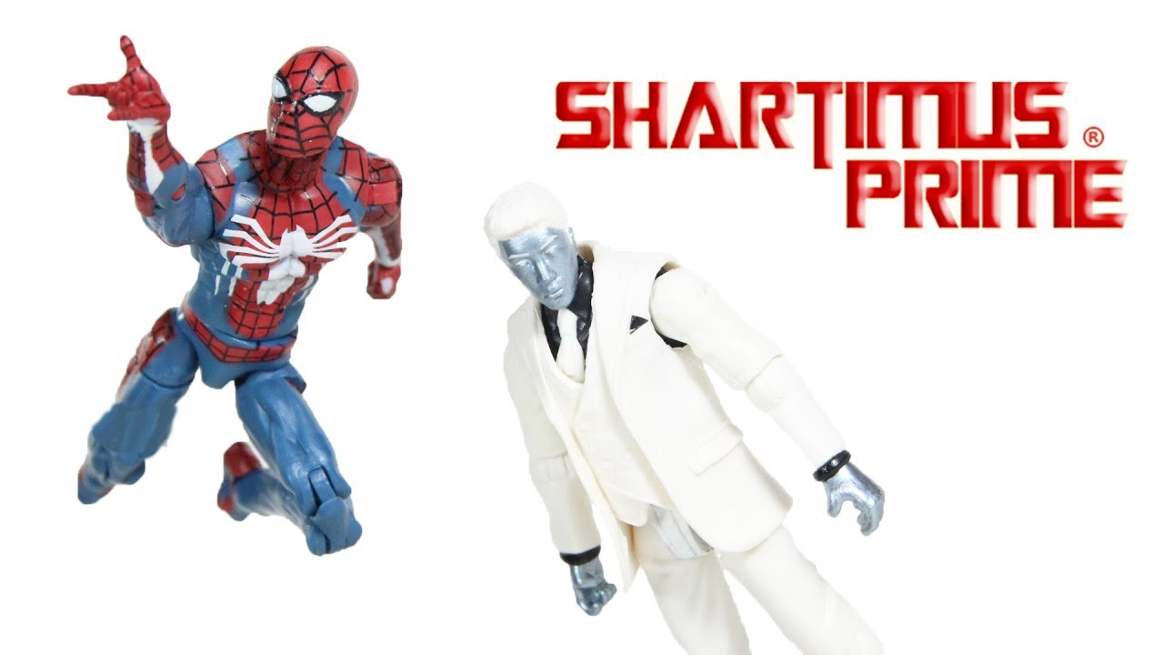Marvel Gamerverse Spider-Man Spider-Man vs Mister Negative 3 3//4-Inch Action Fi