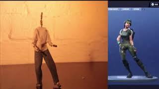 Fortnite Freestylin Emote animert