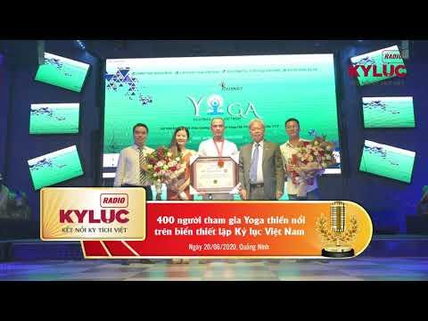 KylucRadio.vn| Hơn 400 người tham gia Yoga Thiền nổi trên biển thiết lập Kỷ lục Việt Nam