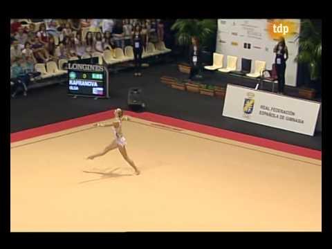 Olga Kapranova hoop World Cup Final 2008