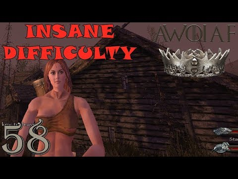 Mount & Blade | ATTACKING ROOSE BOLTON!!! E58 (AWOIAF INSANE Difficulty)