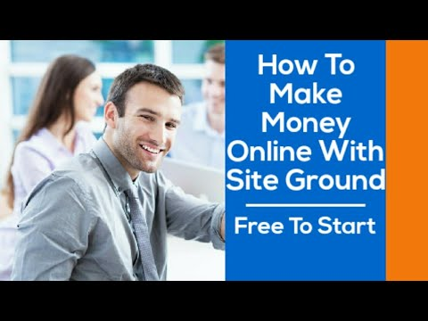 How to make money online with siteground affiliate program in 2019 #affiliateincome #passiveincome thumbnail