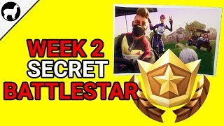 How to Find Secret Battlestar Week 2 | Road Trip Challenges | Fortnite Battle Royale Season 5