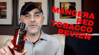 Mancera Red Tobacco Full Review + Full Bottle USA Giveaway