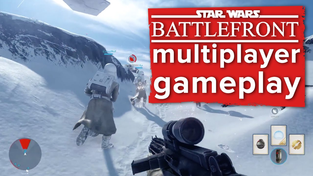 Star wars battlefront 2015 мультиплеер