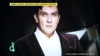 Jorge Salinas nos revela que sí usa apuntador al grabar sus escenas | De Primera Mano
