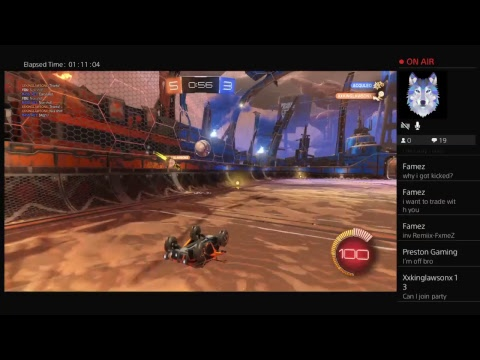 Rocket league trading and gameplay
