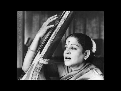MS Subbulakshmi-Music Academy- Concert 1955-Part-1