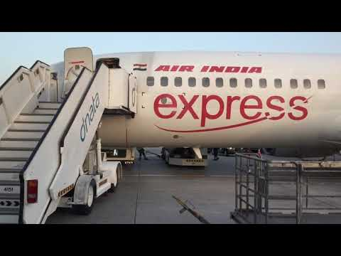 Air India Express Boeing 737 Dubai To Trichy