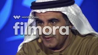 في الموسم السابع من (أمير الشعراء) ملقيًا مطلع تجربتي (قِفا) - يناير 2017
