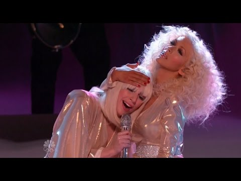 Lady Gaga ft. Christina Aguilera - Do What U Want (The Voice 2013 Finale) Mp3