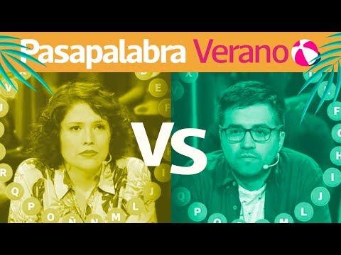 Pasapalabra   Andrea Vergara Vs Víctor Díaz