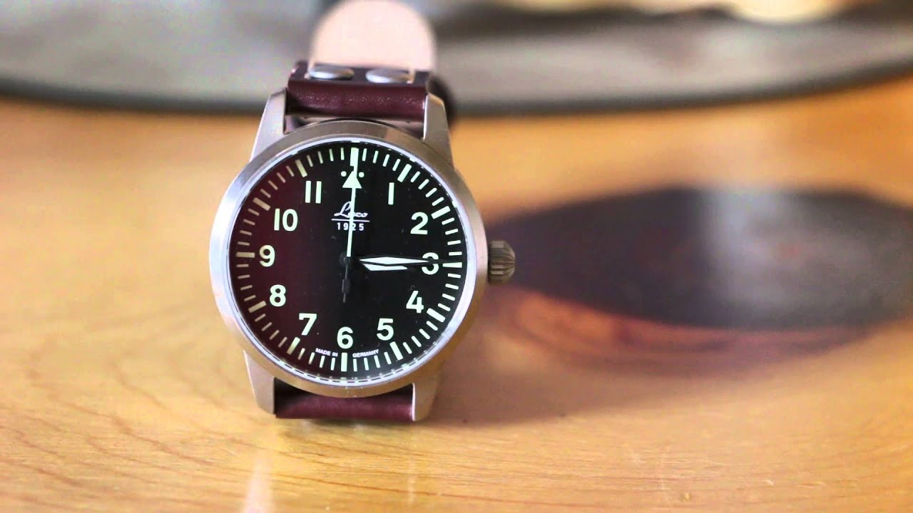 One Minute of a Watch - Laco Flieger Type A 36mm - YouTube
