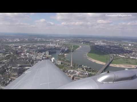 90 Jahre Düsseldorfer Flughafen - Video by Duesseldorf-Magazin.info