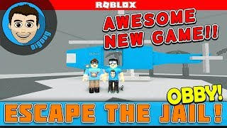 Roblox New Escape the Jail Obby! A great NEW Roblox game built by BlueLocus!