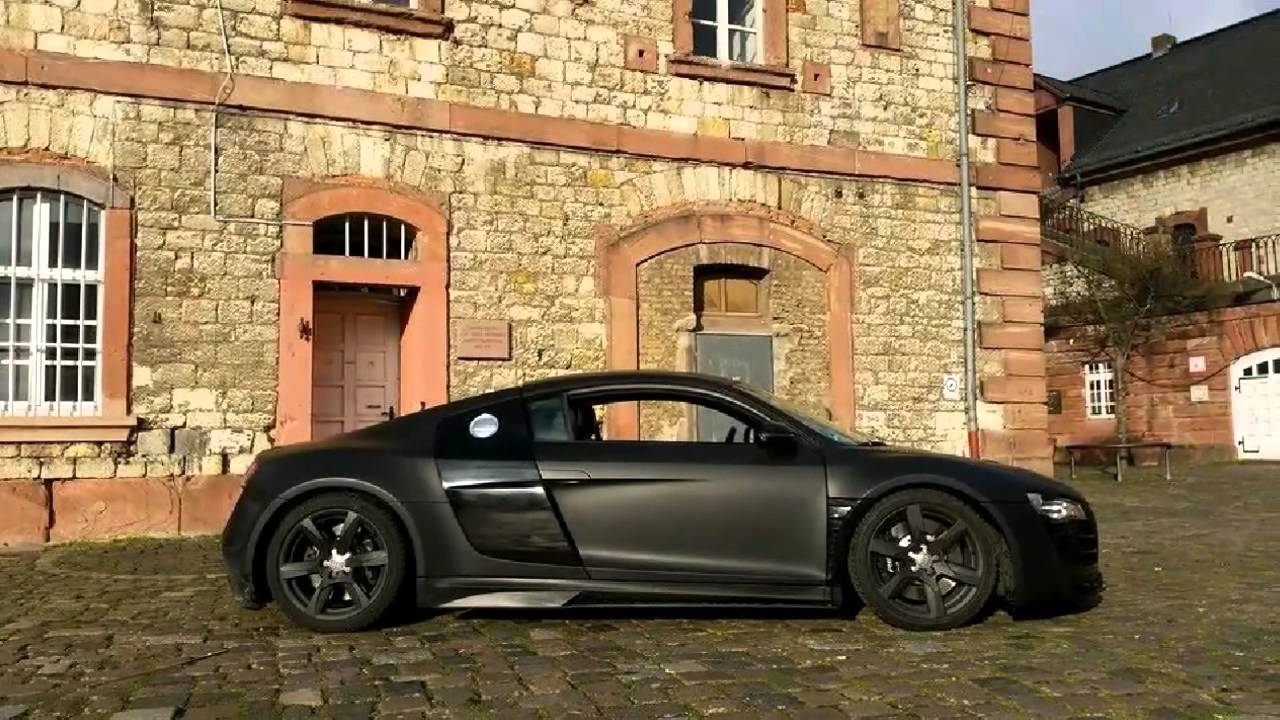 audi r8 gt850 bodykit by prior design www r8 mainz youtube. Black Bedroom Furniture Sets. Home Design Ideas