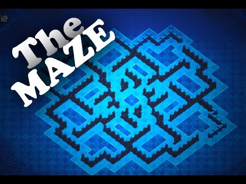 CLASH OF CLANS | The ULTIMATE TH8 TROPHY/ TROLL BASE | THE MAZE | JSTAR