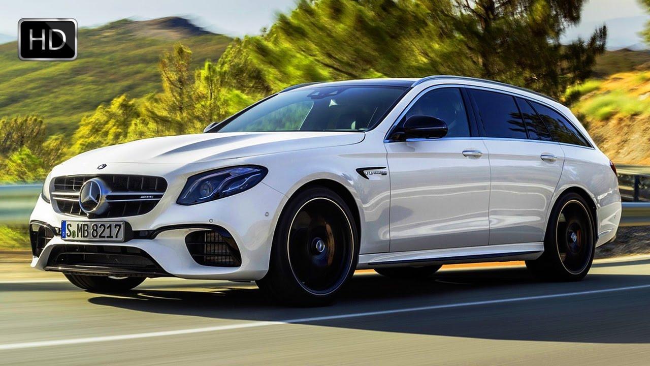 2018 Mercedes-AMG E63 S Wagon 4MATIC+ Diamond White Design ...
