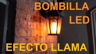 dise/ño de llama Farol LED con forma de llama Younoo