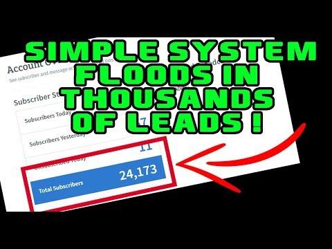 Lead Generation System PUMPS IN Leads On AUTOPILOT! (Walkthrough)