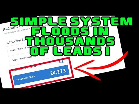 Lead Generation System PUMPS IN Leads On AUTOPILOT! (Walkthrough)