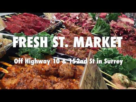 Fresh St. Market Panorama Surrey