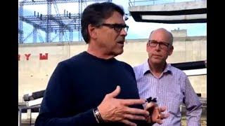 Rick Perry Very Impressed By Large Area
