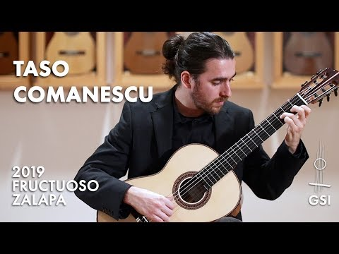 """Manuel Ponce's """"12 Preludes, No. 6 In A"""" Played By Taso Comanescu On A 2019 Fructuoso Zalapa"""