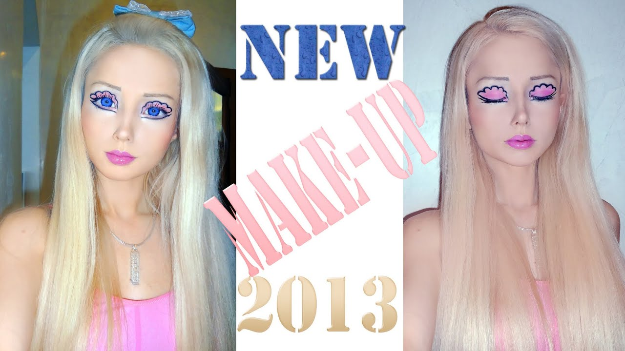 valeria lukyanova without makeup - 1280×720