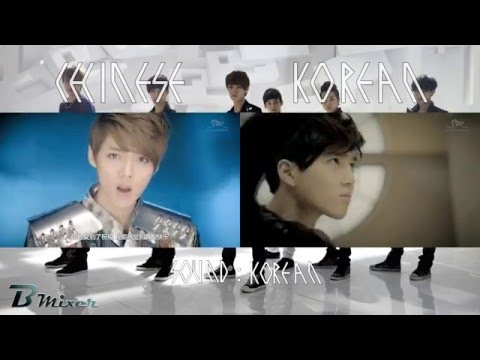 EXO - MAMA | Chinese - Korean MV Comparison (ver.B)
