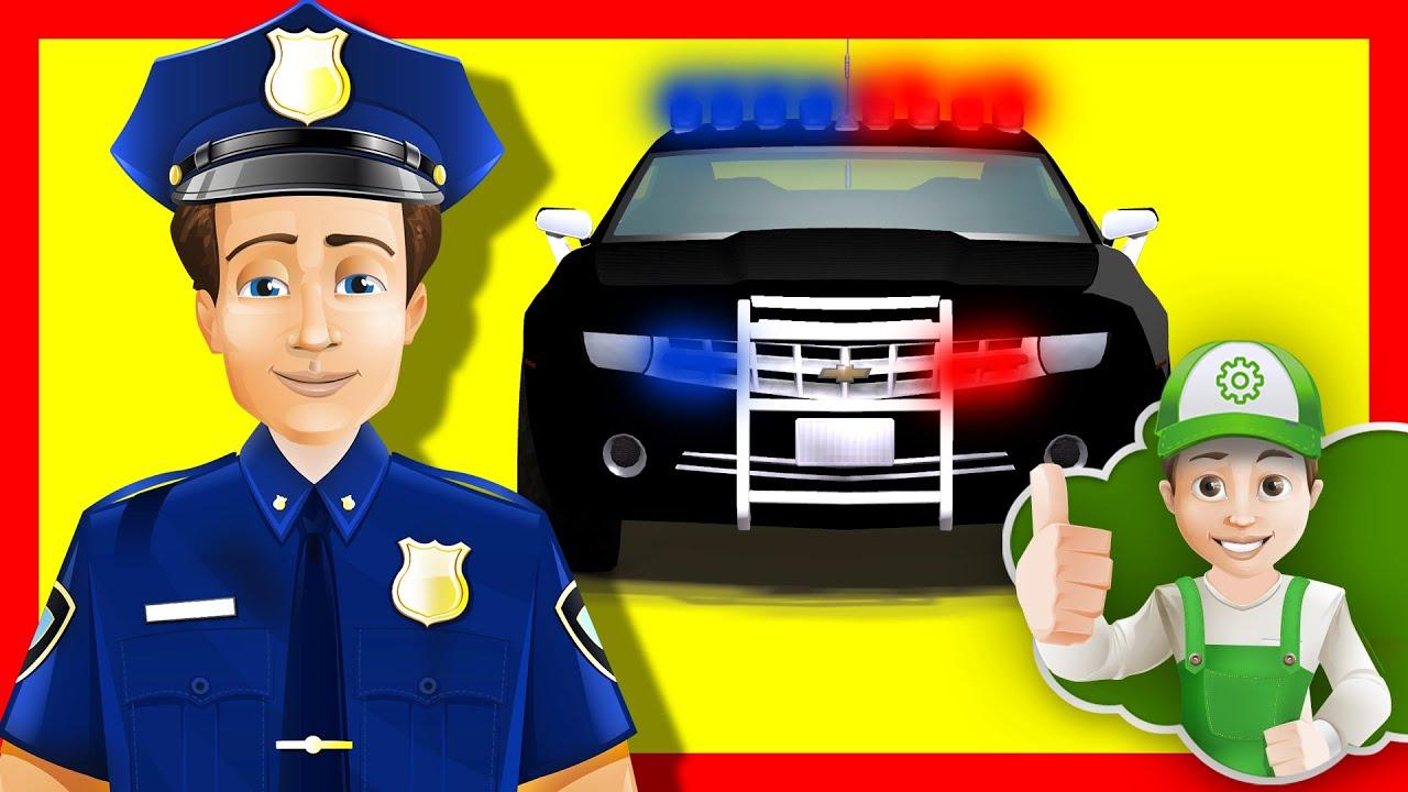 Мультик про полицейскую машину.  Винтик нарушил правила -  Хочу Знать Все