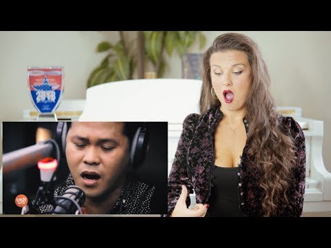 Vocal Coach Reacts to Marcelito Pomoy  The Prayer Celine Dion & Andrea Bocelli